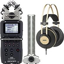 Zoom H5 Handy Digital Recorder Bundle with SGH-6 Shotgun Capsule and AKG K92 Closed-Back Headphones