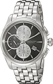 Men's 'Jazzmaster' Swiss Automatic Stainless Steel Watch, Color:Silver-Toned (Model: H32596181)