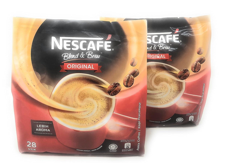 Max 79% OFF Nescafé 2 Packs 3-in-1 Original Coffee Instant Single New product!! Premix