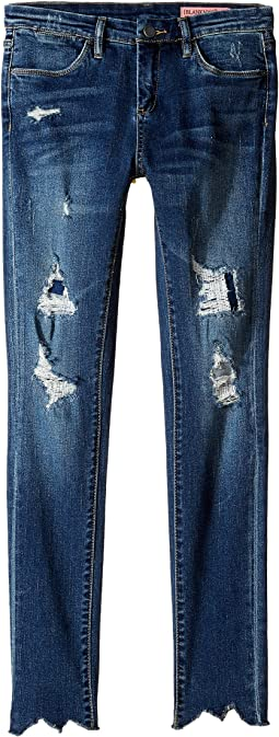 Blank NYC Kids - Denim Distressed Skinny in Charmed Life (Big Kids)