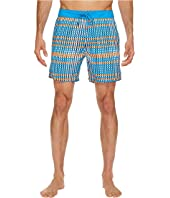 Mr. Swim - Flat Plaid Printed Chuck Boardshorts