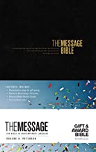 The Message Gift and Award Bible (Softcover, Black): The Bible in Contemporary Language