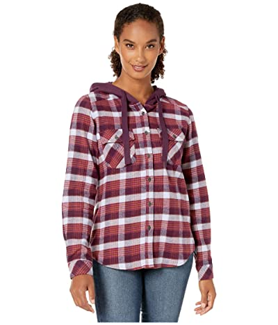 Columbia Canyon Pointtm II Shirt Jacket (Black Cherry Check) Women