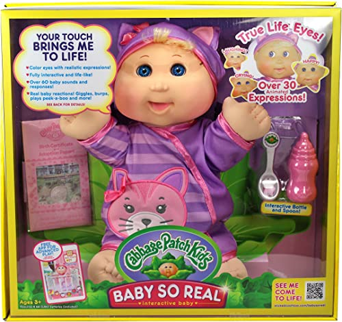 ventas en linea Cabbage Patch Kids 14 Baby So So So Real Blonde by Cabbage Patch Kids  minorista de fitness