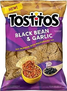 Tostitos Multigrain Black Bean & Garlic Flavored Tortilla Chips, 10 oz Bag