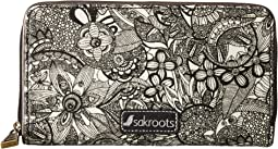 Sakroots - Artist Circle Large Zip Around Wallet