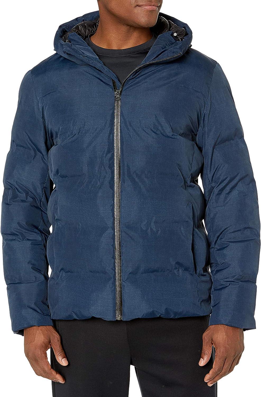 Peak Velocity Men's Heat Sealed Waterproof Puffer Jacket