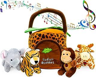 Best plush jungle animals Reviews