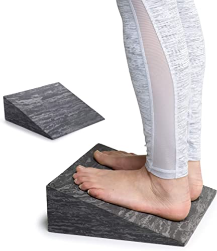 OPTP PRO-Slant – Professional Foam Incline Slant Boards for Calf, Ankle and Foot Stretching (4971)