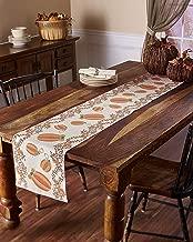harvest pumpkin table runner