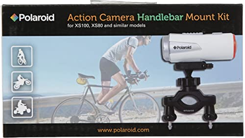 new arrival Polaroid wholesale Handlebar Mount for XS80HD and XS100HD discount Action Video Cameras,Black outlet sale
