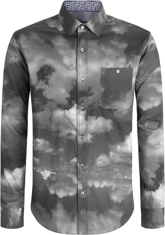 low-pricing Bugatchi Columbus Mall Men's Shaped Fashion Shirt