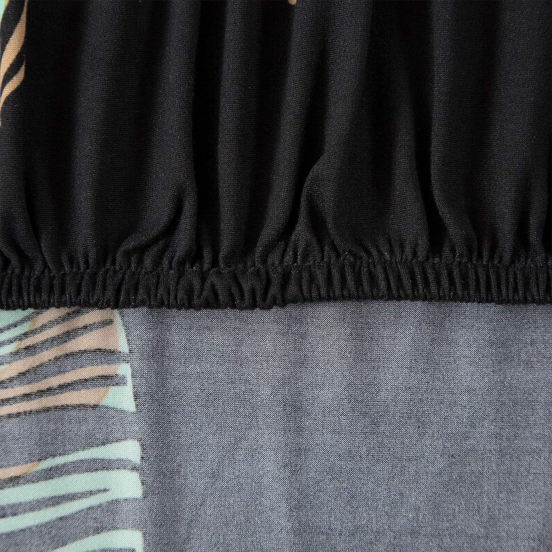 JuneJour Sessel-/Überw/ürfe Sesselschoner Sesselbezug Sofabezug onhe Armlehnen Sesselhusse Stretch Sesselbezug f/ür Cafe Wohnzimmer