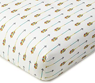 Levtex Home Baby Zambezi Collection Print Fitted Crib Sheet, Multi