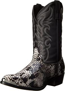 Best fake snakeskin cowboy boots Reviews