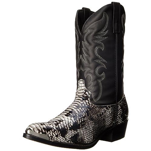 82344f5b90b Men's Snakeskin Cowboy Boots: Amazon.com