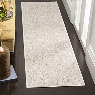 Safavieh Bahira Traditional Area Rug, Woven Polypropylene Runner Carpet in Beige / Cream, 68 X 243 cm