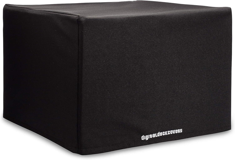 DigitalDeckCovers Printer Dust Cover & Protector for Brother HL2240 /HL-2270DW /HL-L2300D /HL-L2320D /HL-L2340DW /HL-L2360DW /HL-L2365DW /HL-L2370DW Printers [Antistatic, Water Resistant, Black]