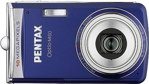 Pentax Optio M60 Digitalkamera 2 5 Zoll Ozeanblau Kamera