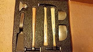 Martin 647K Hickory Handle Autobody Hammer & Dolly Set