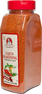 Cajun Seasoning & BBQ Rub   Made From Best Spices Paprika Salt Galic Onions   For Chicken Wings Pork Chops Fish Seafood Jambalaya Rice Gumbos Beef Steak Pasta Grilling Smoker   Chef Quality 1 LB 8 OZ