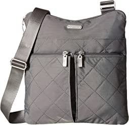 Quilted Horizon Crossbody with RFID Wristlet
