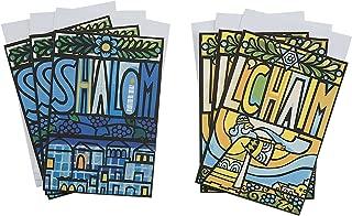 Hallmark Tree of Life Rosh Hashanah Card Assortment, Shalom and L'Chaim (6 Cards with Envelopes)