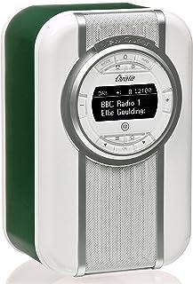 VQ Christie DAB & DAB+ Digital Radio with FM, Bluetooth/NFC, Alarm Clock, Rotating Display & Enamel Fascia – Emerald Green