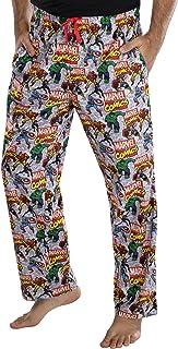 Marvel Comics hombre' Postura Avengers Pajama Pants Loungewear