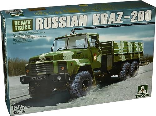 suministramos lo mejor TAKOM 1 1 1 35 - Rusia KrAZ-260 Camión - (TAK02016)  diseño simple y generoso