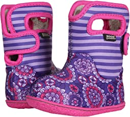 Bogs Kids Baby Bogs Pansy Stripe (Toddler)