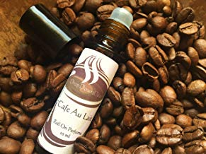 Cafe Au Lait Perfume Oil, Roll On Perfume, Coffee Scented, Aromatherapy, Essential Oils, Coffee Lover, Coffee Perfume, Gourmand Perfume