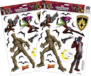 Marvel Guardians of The Galaxy Window Clings Set
