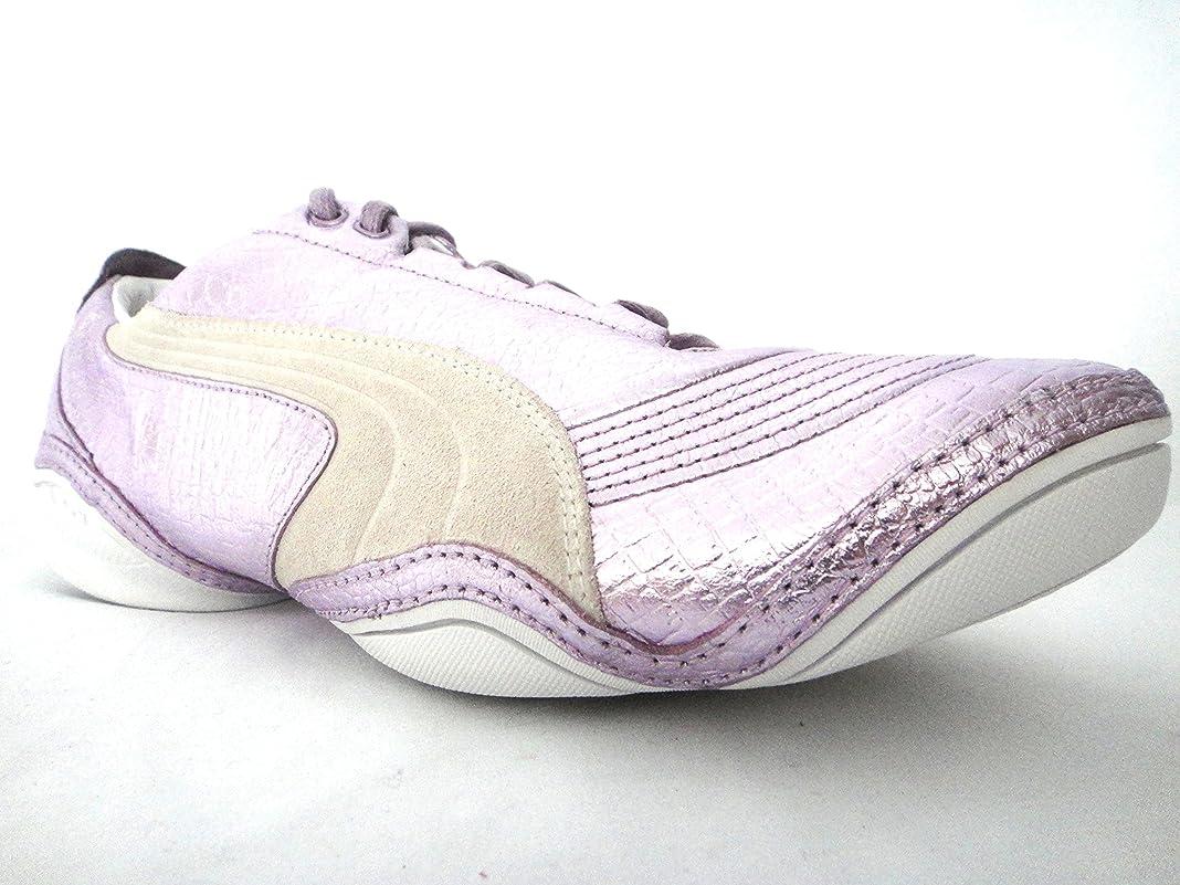 不純幽霊底[プーマ] Scattista Exotic Womens Leather Sneakers/Shoes - Violet [並行輸入品]