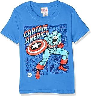Marvel Boy's Captain America T-Shirt