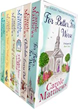 Carole Matthews Collection 6 Books Set (For Better For Worse, The Chocolate Lovers Diet, The Chocolate Lovers Wedding, A Whiff Of Scandal, With Or Without You, Million Love Songs)