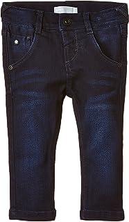 NAME IT Nitrio Dark M Slim Dnm Pant Noos S Pantalones para Niños