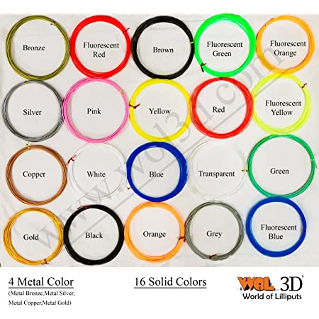 WOL 3D 20pcs of 10m each with plastic Box