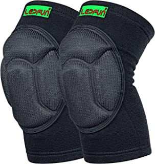 Lepfun S9000/S9900 Knee Pads, (1Pair) Thick Sponge Anti-Collision Kneeling Kneepad Support for Outdoor, Climbing and Sports