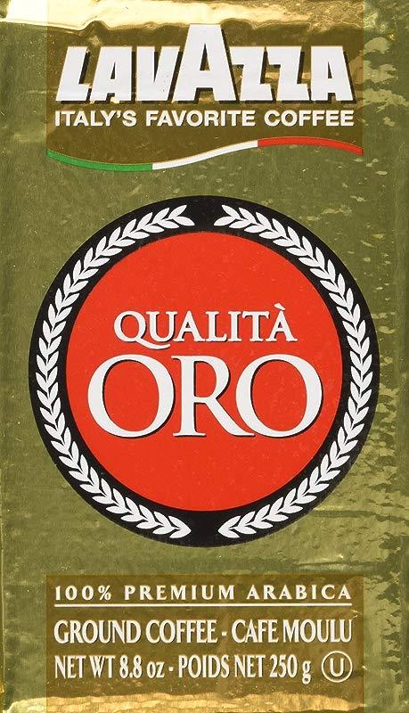 Lavazza Ground Coffee Qualita Oro 250g 4 Pack
