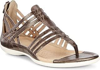 ECCO Women's Flash Lattice T-Strap Huarache Sandal