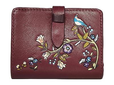 Vera Bradley Carryall RFID Small Wallet (Mulled Wine) Wallet Handbags