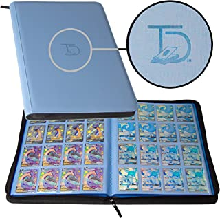 TopDeck 1000 Card Portfolio   16 Pocket Trading Cards Album   Long Term Storage Binder   Side Load Sleeves   Pokemon/MTG/Y...