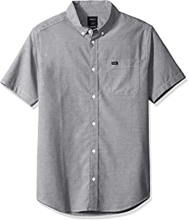 Men's Thatll Do Stretch Short Sleeve Woven Button Up Shirt