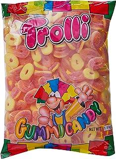 Trolli Peach Rings Gummi Candy, 1.5 kg