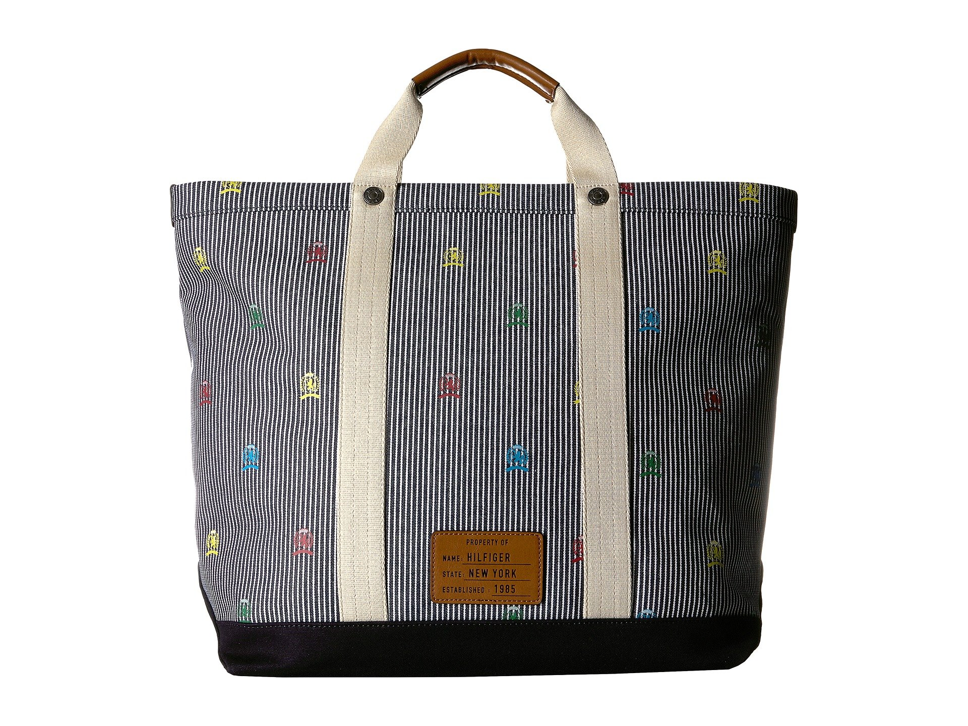 Bolso de Mano para Hombre Tommy Hilfiger Winners Circle Tote - Railroad Crest  + Tommy Hilfiger en VeoyCompro.net