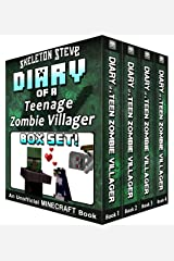 Diary of a Teenage Minecraft Zombie Villager BOX SET - 4 Book Collection 1 : Unofficial Minecraft Books for Kids, Teens, & Nerds - Adventure Fan Fiction ... Noob Mobs Series Diaries - Bundle Box Sets) Kindle Edition