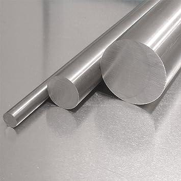 Edelstahl Rundstab VA V2A 1.4301 blank h9 /Ø 10 mm L: 900mm 90cm Zuschnitt