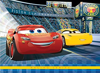 Ravensburger Disney: Cars 3 - 100 Piece Jigsaw Puzzle for Kids – Every Piece is Unique, Pieces Fit Together Perfectly