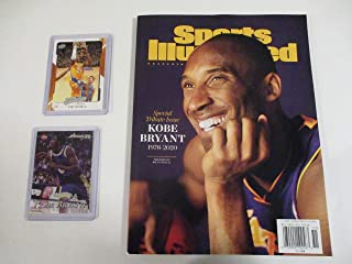 2-7-2020 SPORTS ILLUSTRATED SPECIAL TRIBUTE ISSUE KOBE BRYANT 1978-2020 PLUS 2 COLLECTIBLE CARDS